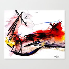 Quixote La Mancha Canvas Print