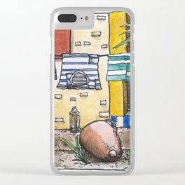 Colorfull Shirts Clear iPhone Case