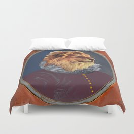 GENTRIFIED BOURGEOIS LION Duvet Cover