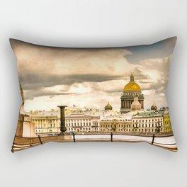 Sphinxes on Neva Rectangular Pillow