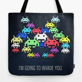 invader boss Tote Bag