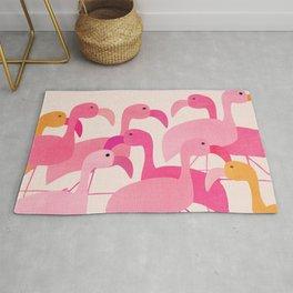 Florida Flamingos Rug