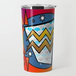 astrology,Aquarius,January Travel Mug