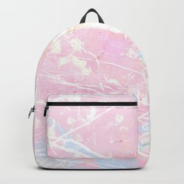 Pastel Candy Pollock marble Backpack