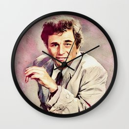 Peter Falk, Actor Wall Clock