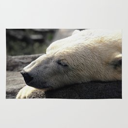 A polar bears' sweet dreams Rug