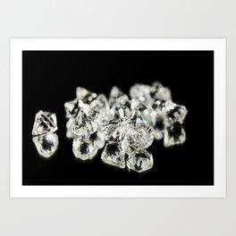 Diamonds pack CU Art Print