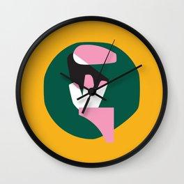 Days in the tropics Wall Clock