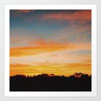 Sunset Sunset and more Sunset Art Print