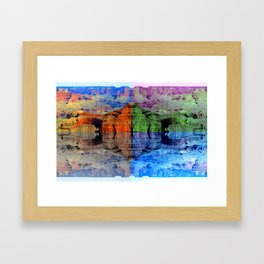 Drifting Over the Grand Canyon Framed Art Print
