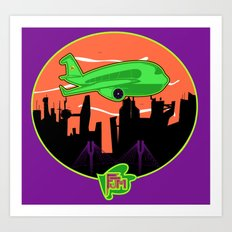 Unisex Version FJM  Planes and Jane's Art Print