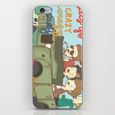 One Direction Live Like We're Young Cartoon iPhone Skin