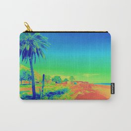 Beach in Paradise Digital Art Carry-All Pouch