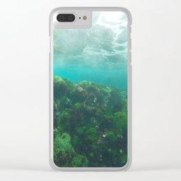 LHI Underwater Green Clear iPhone Case