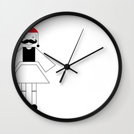 "Greek ""Tsolias"" Wall Clock"