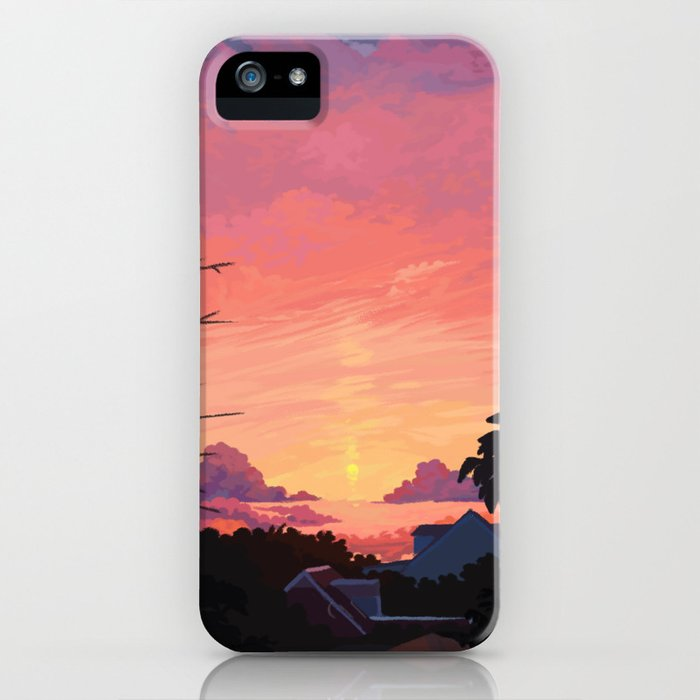 late summer iphone case