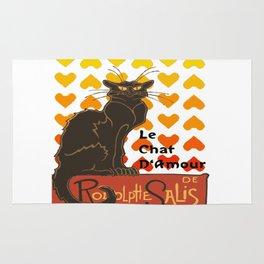 Le Chat Damour De Rodolphe Salis Valentine Cat Rug