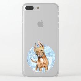Bunny Ears 5 Clear iPhone Case