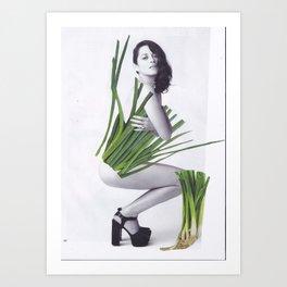 Dress Marion Art Print