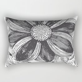 Vintage Flower Rectangular Pillow