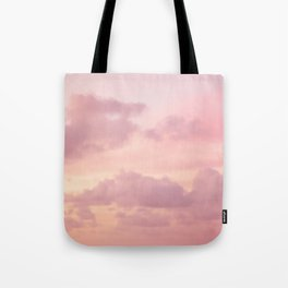 Pink Clouds Tote Bag