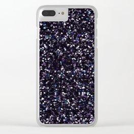 Iokasti Blue-Black Swarovski Clear iPhone Case