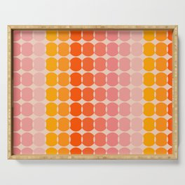 Strawberry Dots Serving Tray
