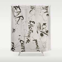 Fear is Fake Shower Curtain