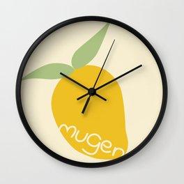 Fresh and bright Wall Clock