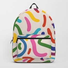 Colorful mess Backpack