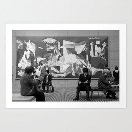 Guernica in Tokyo Art Print