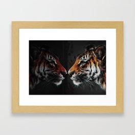 Mirror me Framed Art Print