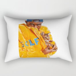 Tyler The Creator Poster Rectangular Pillow