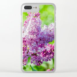 Sweet lilac Clear iPhone Case