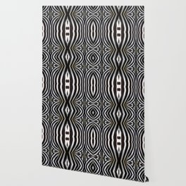 """Pop Safari 01 Zebra"" Wallpaper"