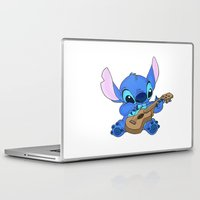 stitch Laptop & iPad Skins featuring Stitch by Christa Morgan ☽