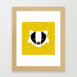 The Badger of Loyalty (Limited 2018) Framed Art Print