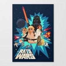 Star Wars FanArt: Rats Wars Canvas Print