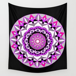 My Love Mandhala   Secret Geometry   Energy Symbols Wall Tapestry