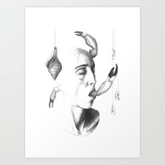 all things grow 3 Art Print