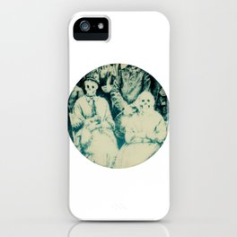 Calling All Skeletons No.3 iPhone Case