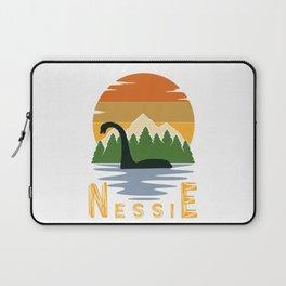 Nessie vintage sunset Laptop Sleeve