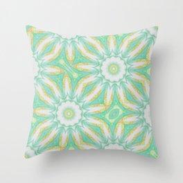 Citrus Mandala Repeat Throw Pillow