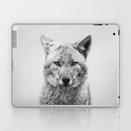 Coyote - Black & White Laptop & iPad Skin