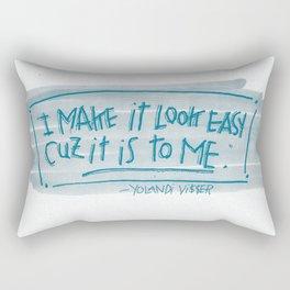 YO-LANDI VI$$ER Rectangular Pillow