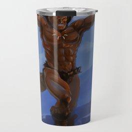 Vik-Tor, the Iron Bear Travel Mug