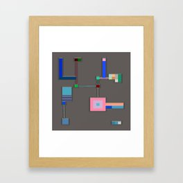Anachronism Mechanism Framed Art Print