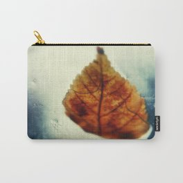 Poetic Winter Carry-All Pouch