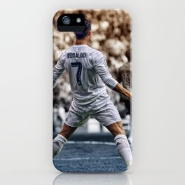 cr7 clebration iPhone Case