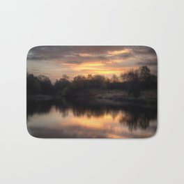 Chasewater Sunrise Bath Mat